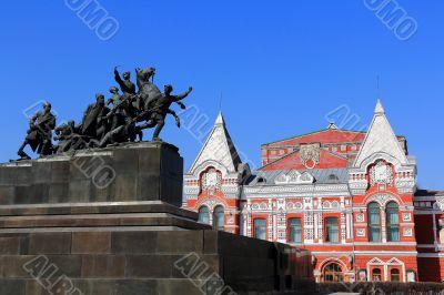 Historic theater in Samara