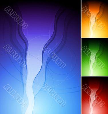 Colourful stylish backgrounds