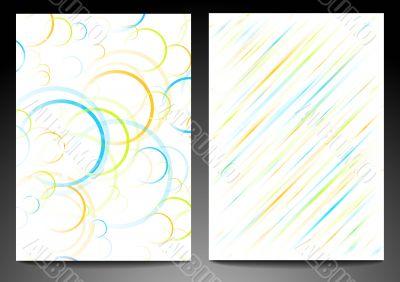 Abstract backdrops