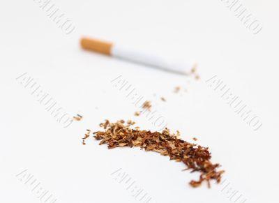 Tobacco Spilled