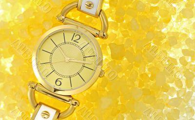 women`s luxury gold wrist watch