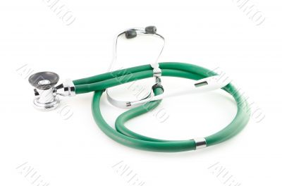 Stethoscope and thermometer