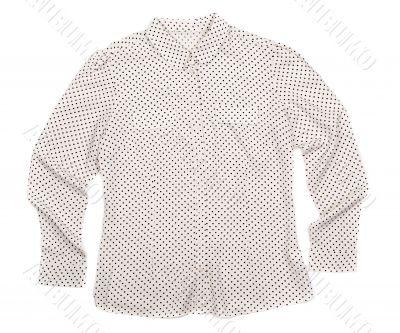 Shirt on White Background
