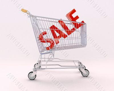 Cart for purchases and sale