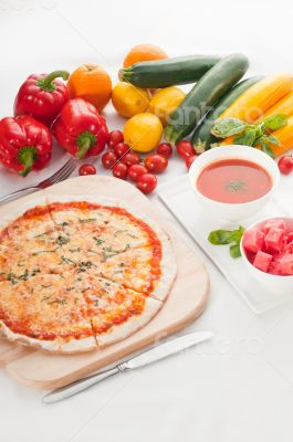 Italian original thin crust pizza