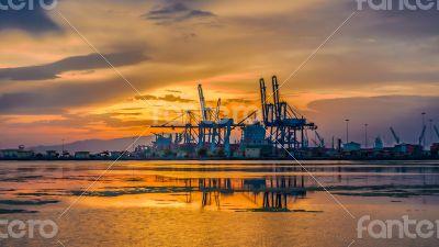 Shores near Djibouti port