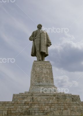 The biggest Lenin`s monument in the world
