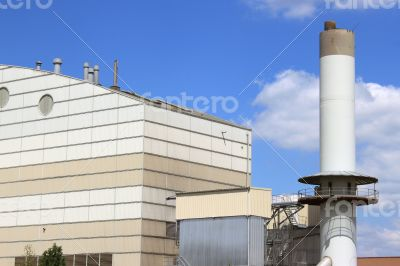 plant for waste treatment