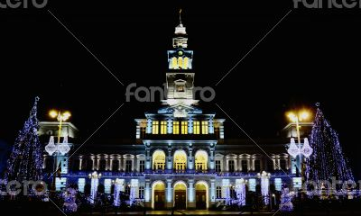 City Hall of Arad Romania