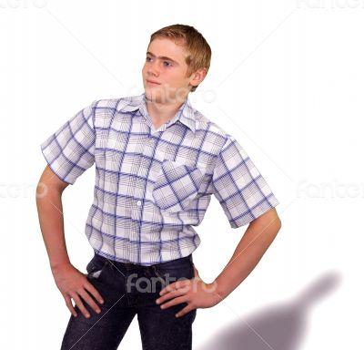 Teen boy body language - Self Assured Confident