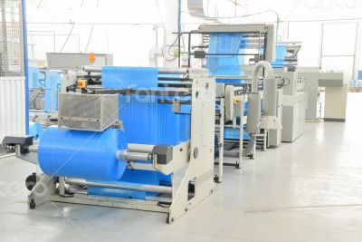 production polyethylene garbage bags