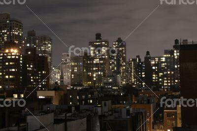 Upper East Side from a terrace