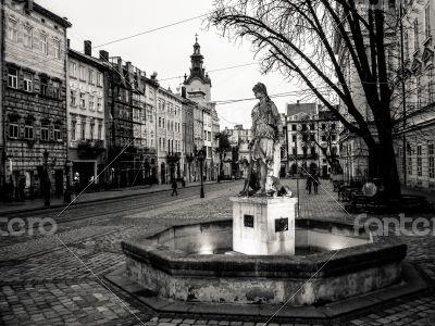A street of Lviv