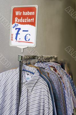 Sale. Price in euro.