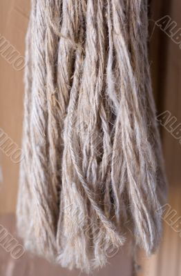 Tassel made from natural string