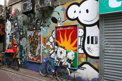 City graffity