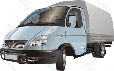 Vector delivery/cargo truck