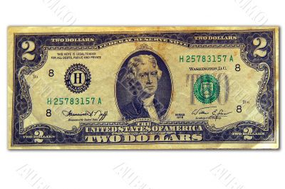 Two dollars