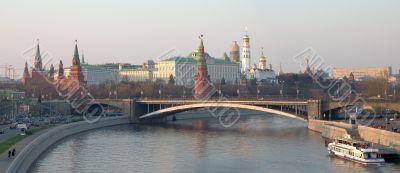 Kremlin daytime panorama high eyepoint