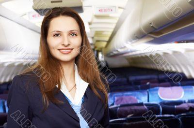 air hostess /stewardess
