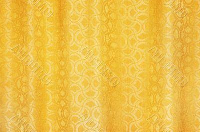 golden curtain textured background