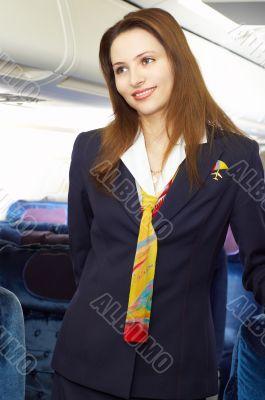 air hostess/stewardess