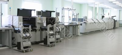 Automatic computer production line