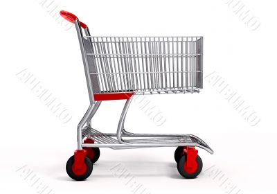 Shopping cart with clipping path 2