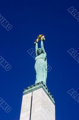 Monument of Freedom in Riga