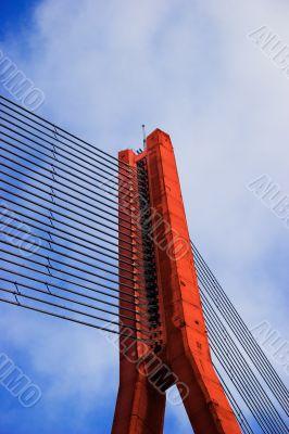 Red Cable bridge