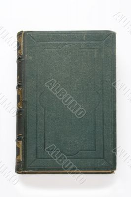 Green old book