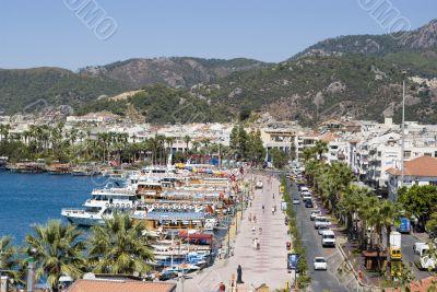 Marmaris Centrum and Yacht Bay