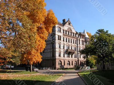 Building in Princeton campus