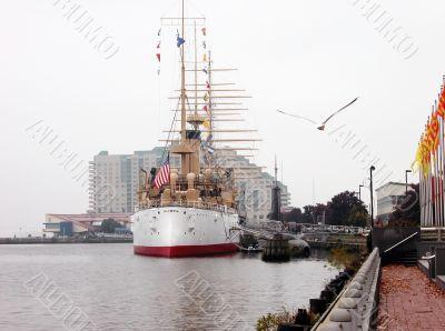 Philadelphia. Olympia cruiser