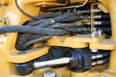 Component parts of hydraulic system