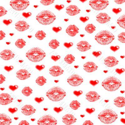 lips & hearts