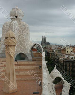 Work of art Gaudi