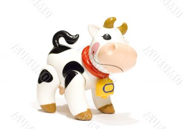 plastic toy - cow