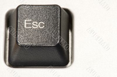 plastic button -Esc