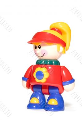 plastic toy - doll