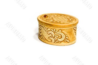 old small box birchen