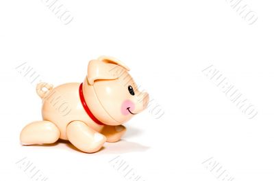 plastic toy - Pig