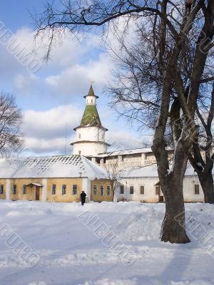 Winter. Moscow region Monastery