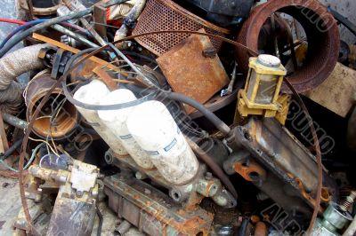 Dump of scrap metal