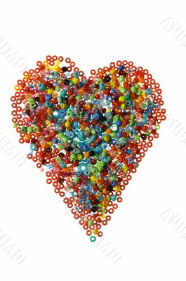 Bead heart