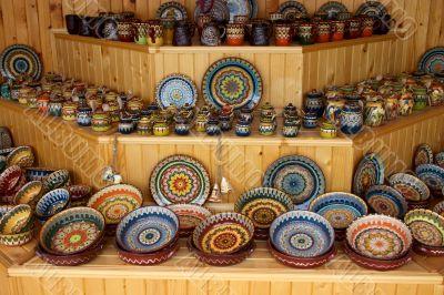 ceramic handmade crockery and dishes
