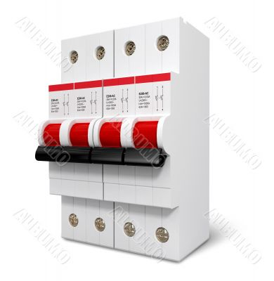 Automatic electricity switcher