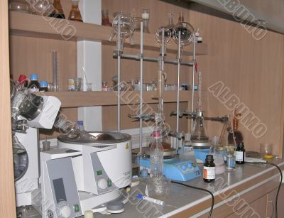 Chemical laboratory