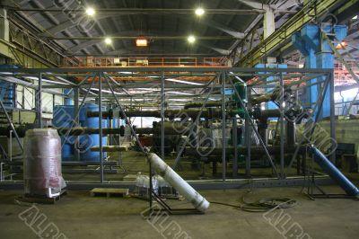 Construction of block boiler-house