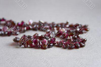 Pomegranate beads